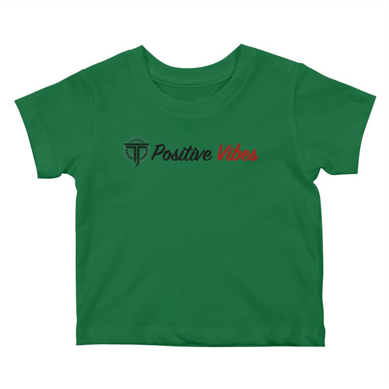 TJ P Vibes Kids Baby T-Shirt by Official Track Junkee Merchandise