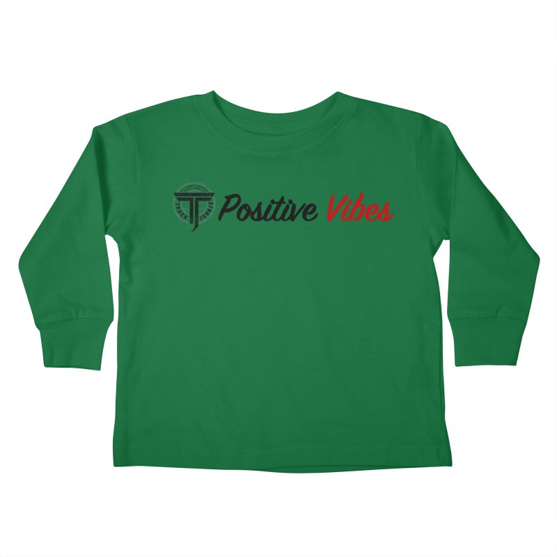 TJ P Vibes Kids Toddler Longsleeve T-Shirt by Official Track Junkee Merchandise