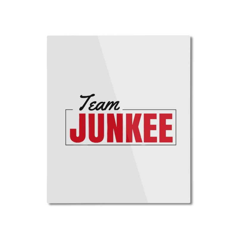 The TEAM Home Mounted Aluminum Print by Official Track Junkee Merchandise