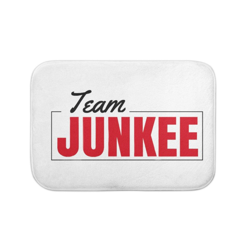 The TEAM Home Bath Mat by Official Track Junkee Merchandise