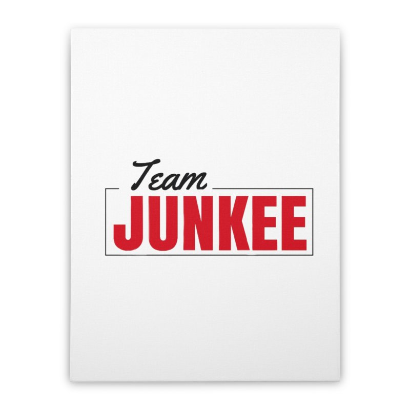 The TEAM Home Stretched Canvas by Official Track Junkee Merchandise