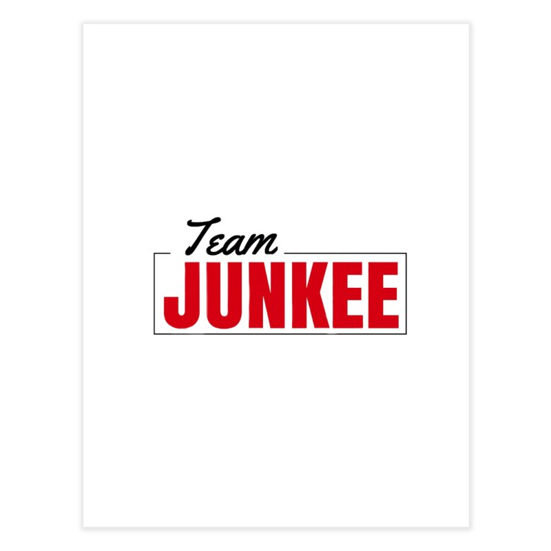The TEAM Home Fine Art Print by Official Track Junkee Merchandise
