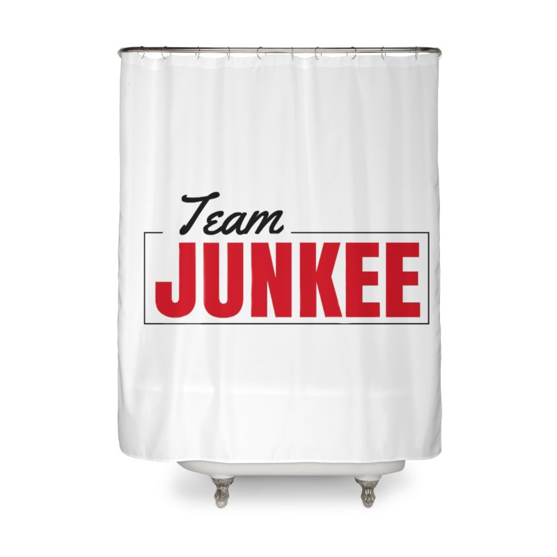 The TEAM Home Shower Curtain by Official Track Junkee Merchandise