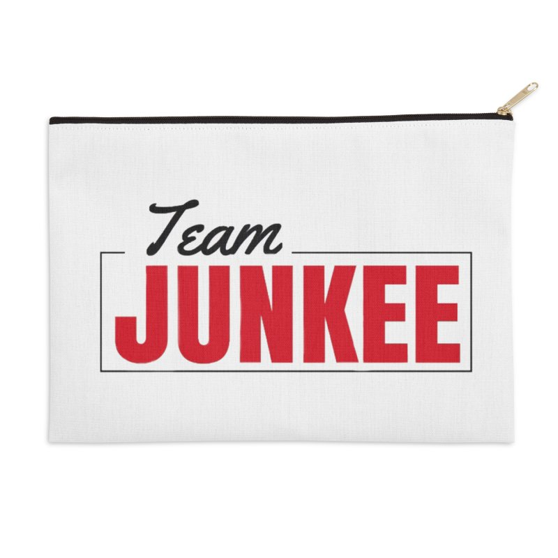 The TEAM Accessories Zip Pouch by Official Track Junkee Merchandise