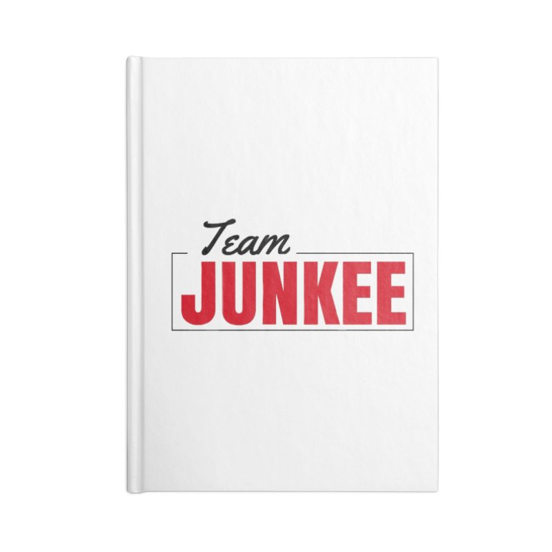 The TEAM Accessories Notebook by Official Track Junkee Merchandise