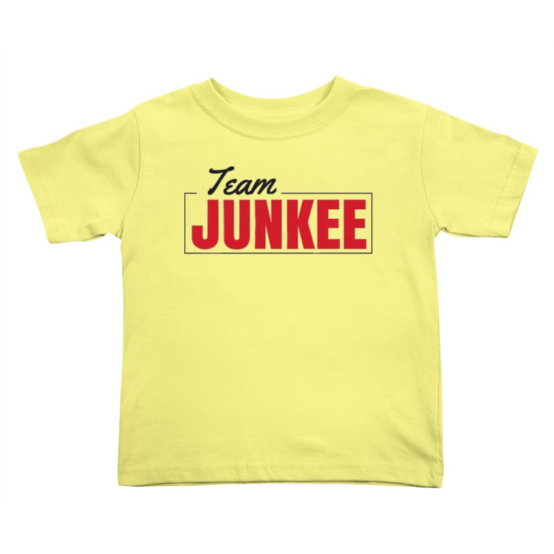 The TEAM Kids Toddler T-Shirt by Official Track Junkee Merchandise