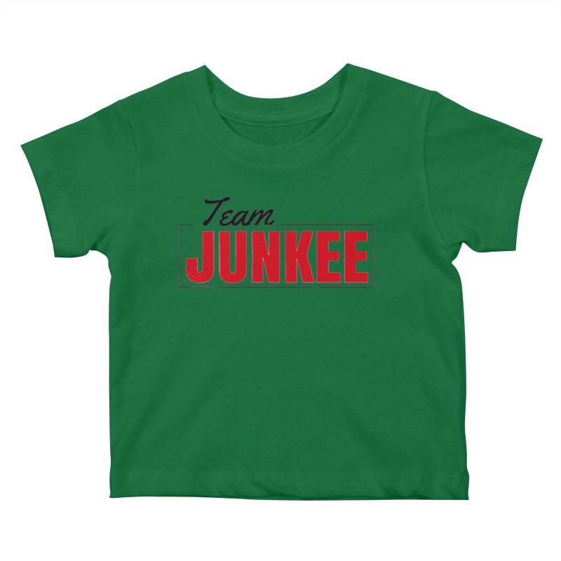 The TEAM Kids Baby T-Shirt by Official Track Junkee Merchandise