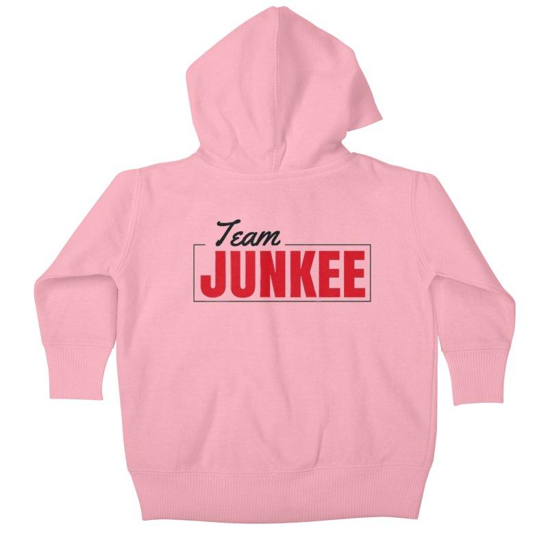The TEAM Kids Baby Zip-Up Hoody by Official Track Junkee Merchandise
