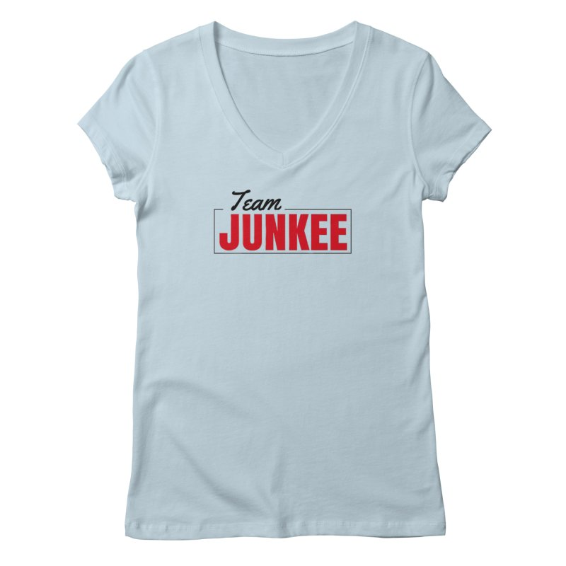 The TEAM Women's V-Neck by Official Track Junkee Merchandise