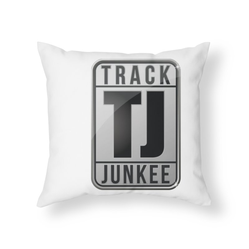"""Junkee """"Royal-Tee"""" Home Throw Pillow by Official Track Junkee Merchandise"""