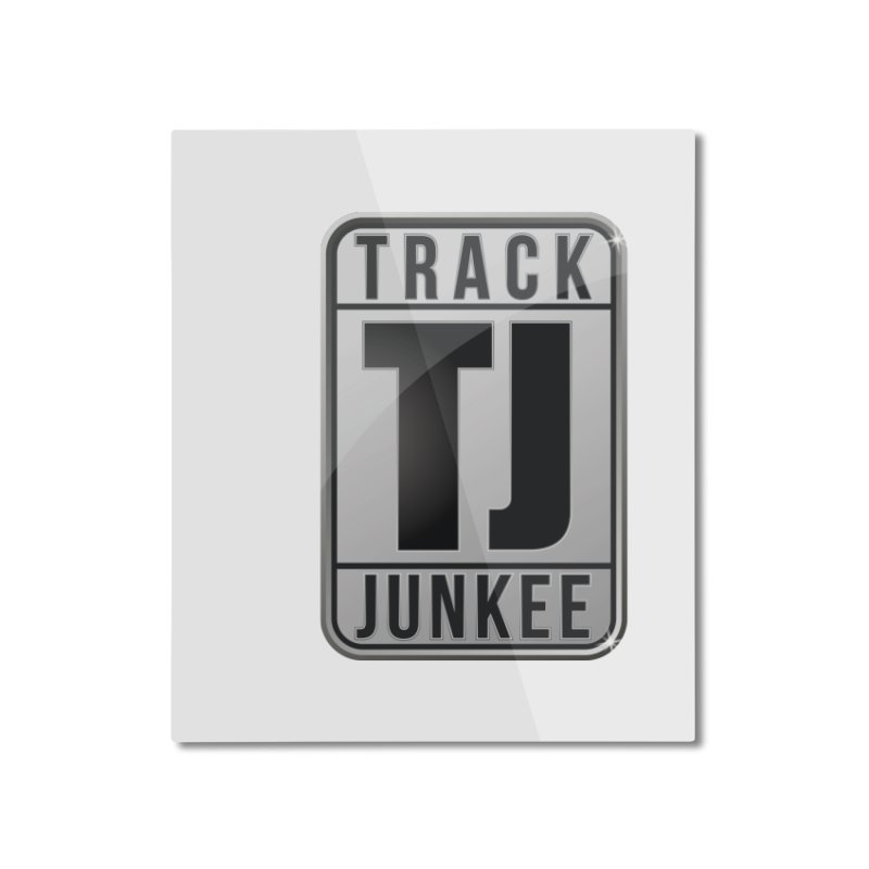 """Junkee """"Royal-Tee"""" Home Mounted Aluminum Print by Official Track Junkee Merchandise"""