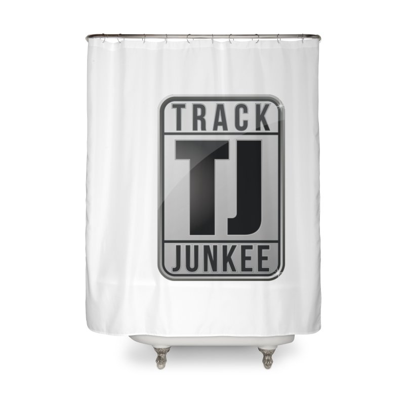 """Junkee """"Royal-Tee"""" Home Shower Curtain by Official Track Junkee Merchandise"""