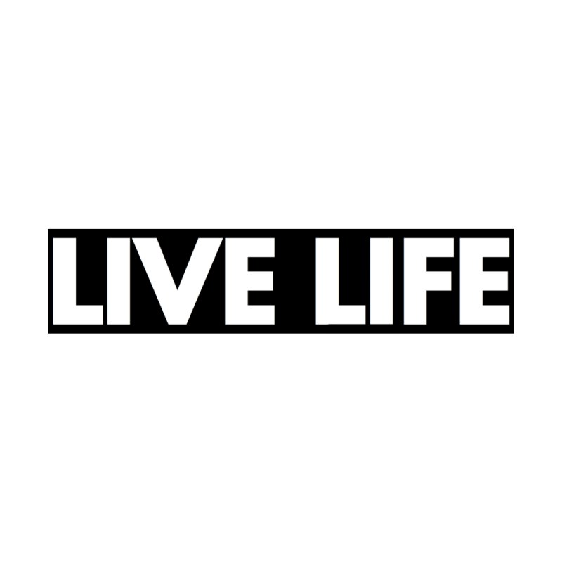 Live Life *Special Edition** Home Bath Mat by Official Track Junkee Merchandise