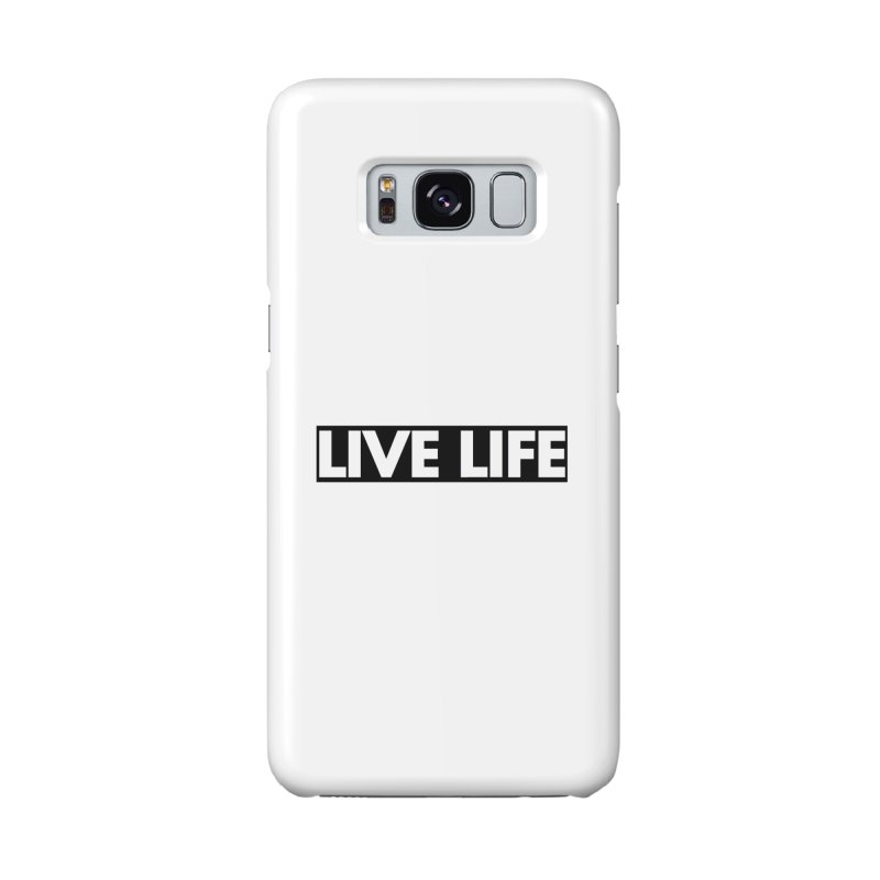 Live Life *Special Edition** Accessories Phone Case by Official Track Junkee Merchandise