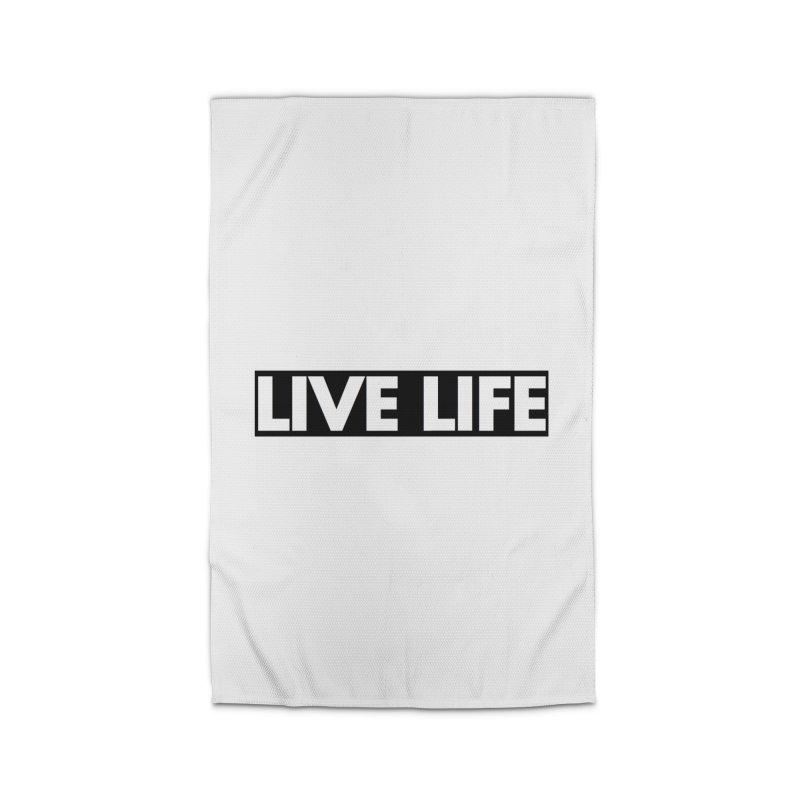 Live Life *Special Edition** Home Rug by Official Track Junkee Merchandise