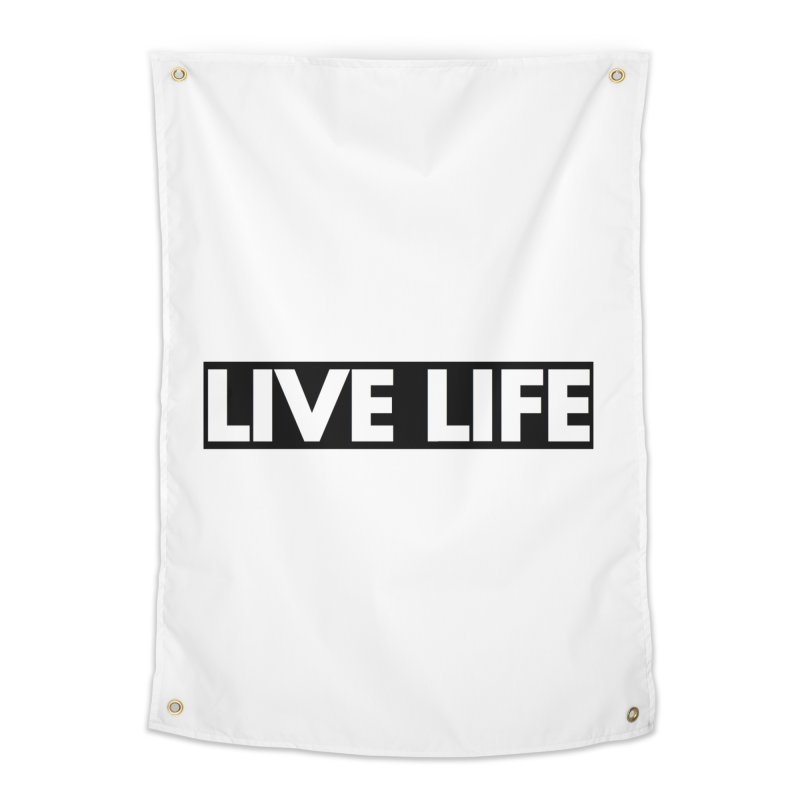 Live Life *Special Edition** Home Tapestry by Official Track Junkee Merchandise