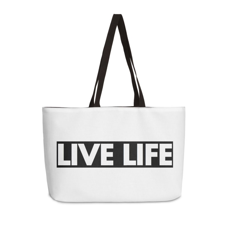 Live Life *Special Edition** Accessories Bag by Official Track Junkee Merchandise