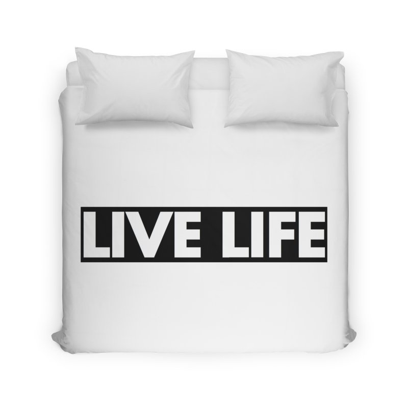Live Life *Special Edition** Home Duvet by Official Track Junkee Merchandise