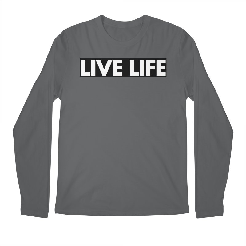 Live Life *Special Edition** Men's Longsleeve T-Shirt by Official Track Junkee Merchandise