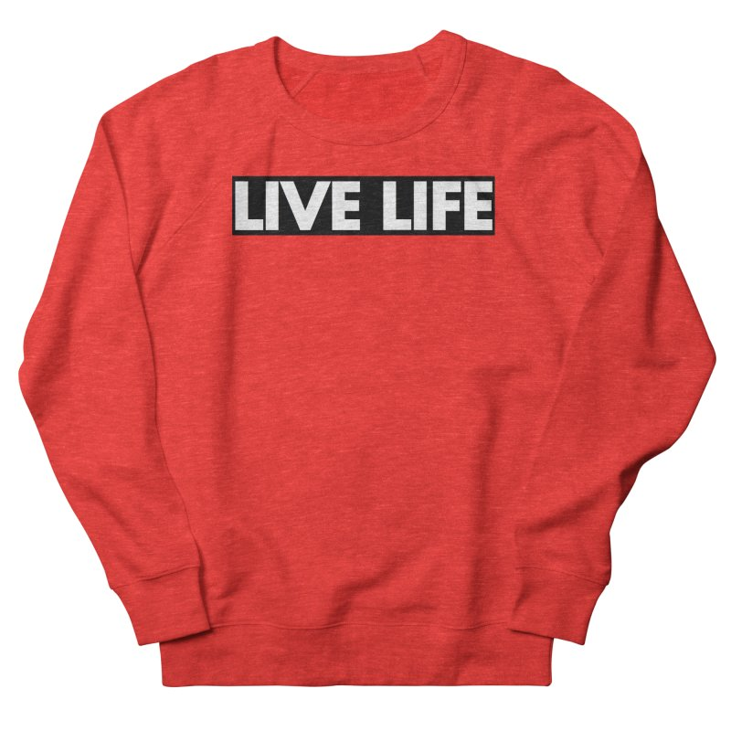 Live Life *Special Edition** Men's Sweatshirt by Official Track Junkee Merchandise