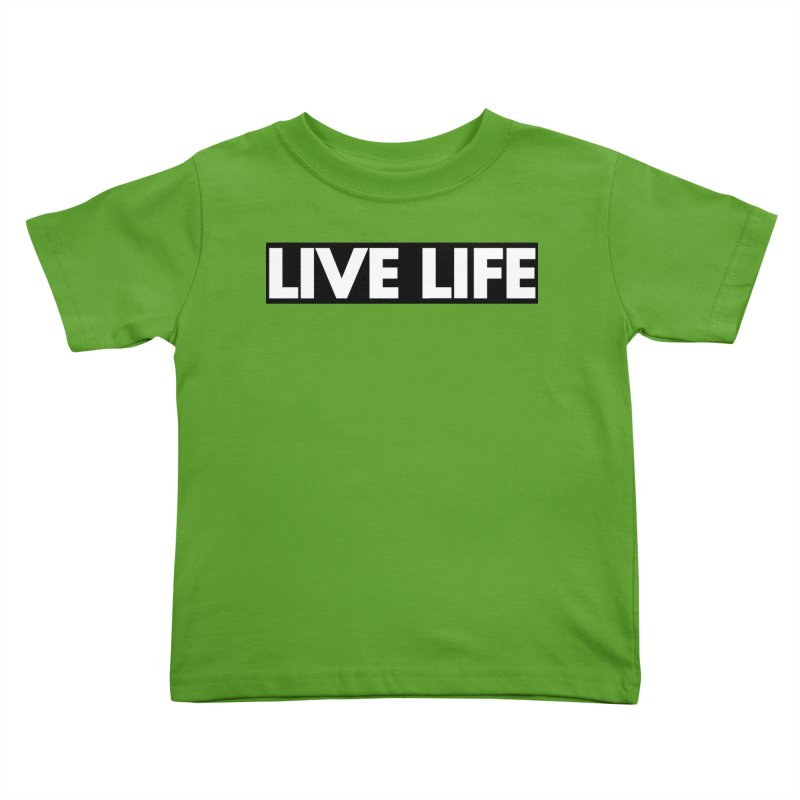 Live Life *Special Edition** Kids Toddler T-Shirt by Official Track Junkee Merchandise