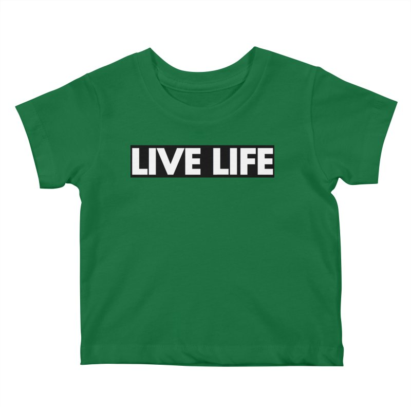 Live Life *Special Edition** Kids Baby T-Shirt by Official Track Junkee Merchandise