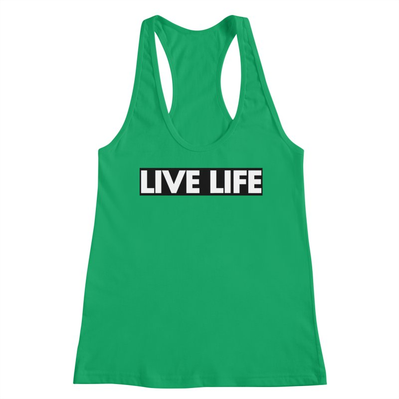 Live Life *Special Edition** Women's Tank by Official Track Junkee Merchandise