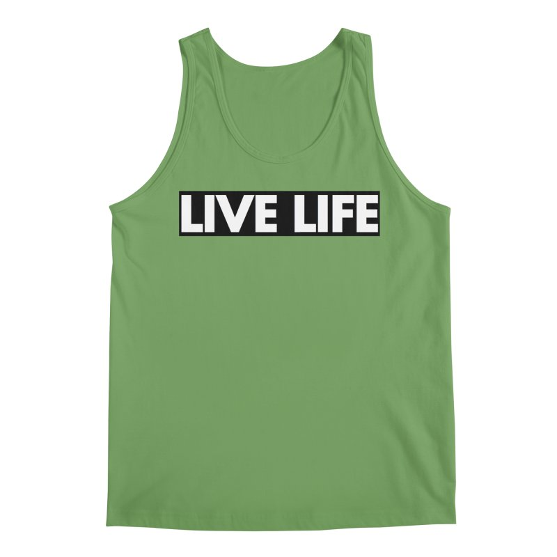 Live Life *Special Edition** Men's Tank by Official Track Junkee Merchandise