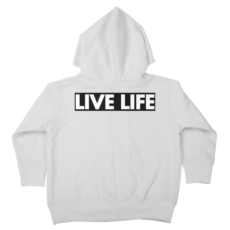 Live Life *Special Edition** Kids Toddler Zip-Up Hoody by Official Track Junkee Merchandise