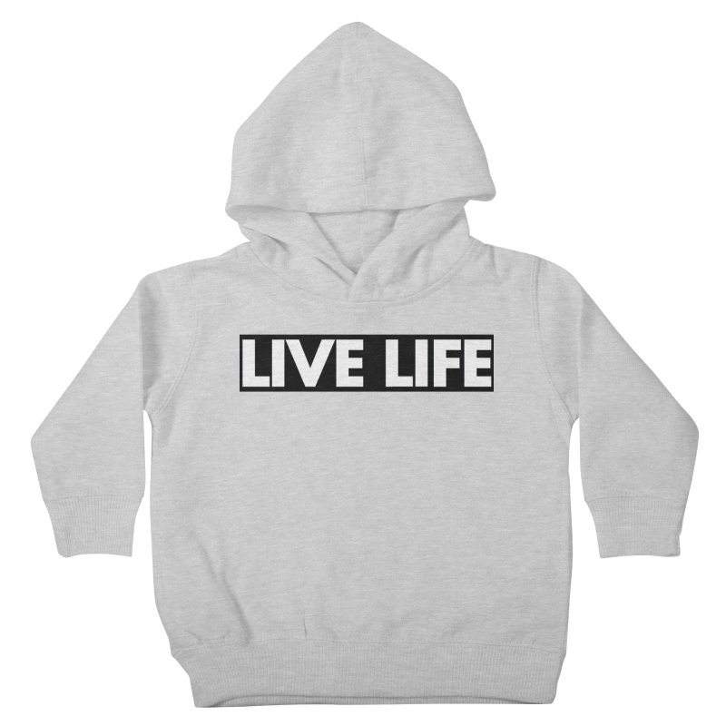 Live Life *Special Edition** Kids Toddler Pullover Hoody by Official Track Junkee Merchandise