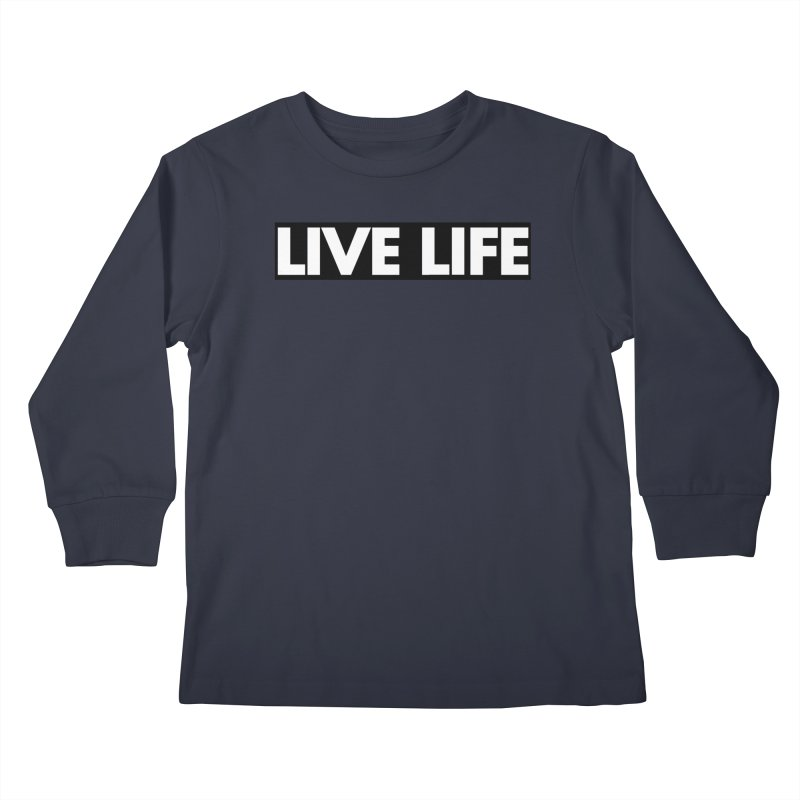 Live Life *Special Edition** Kids Longsleeve T-Shirt by Official Track Junkee Merchandise