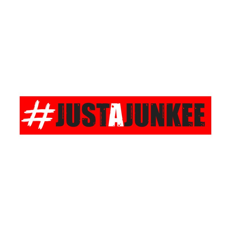 """Just A Junkee""  Limited Edition Men's V-Neck by Official Track Junkee Merchandise"