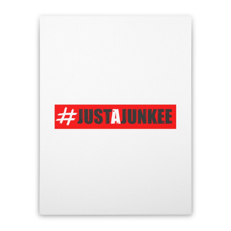 """Just A Junkee""  Limited Edition Home Stretched Canvas by Official Track Junkee Merchandise"