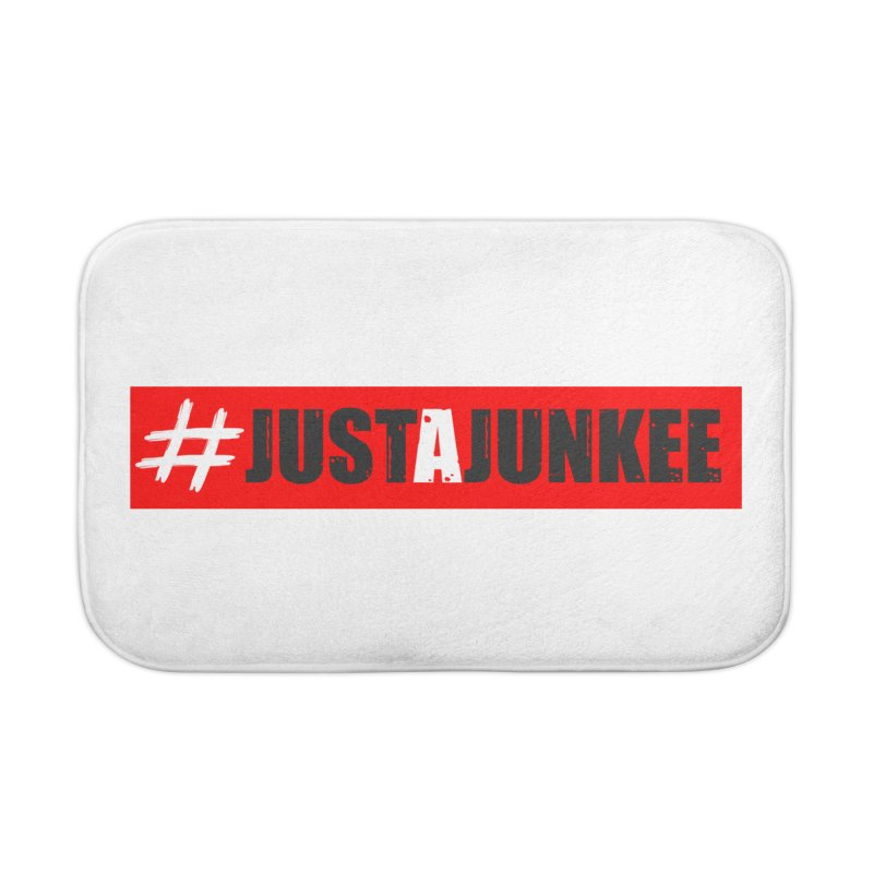 """""""Just A Junkee""""  Limited Edition Home Bath Mat by Official Track Junkee Merchandise"""