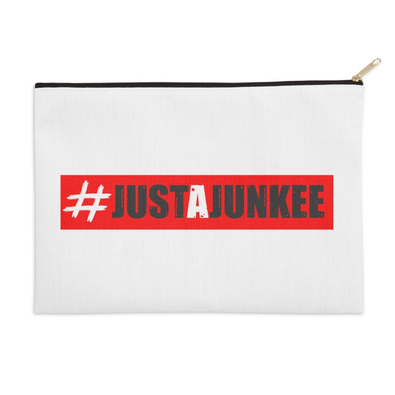 """Just A Junkee""  Limited Edition Accessories Zip Pouch by Official Track Junkee Merchandise"