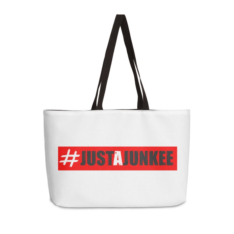 """Just A Junkee""  Limited Edition Accessories Bag by Official Track Junkee Merchandise"