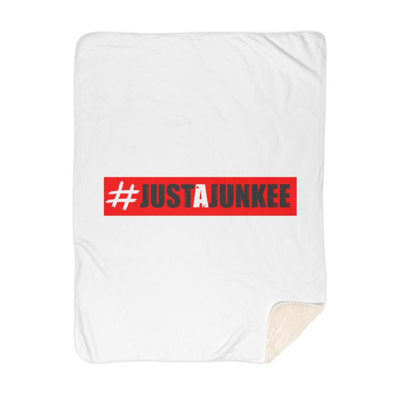 """""""Just A Junkee""""  Limited Edition Home Blanket by Official Track Junkee Merchandise"""