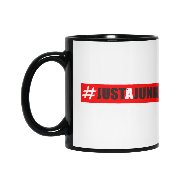 """Just A Junkee""  Limited Edition Accessories Mug by Official Track Junkee Merchandise"