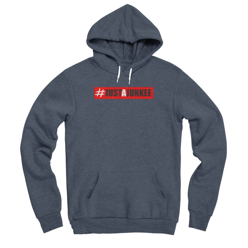 """""""Just A Junkee""""  Limited Edition Men's Pullover Hoody by Official Track Junkee Merchandise"""