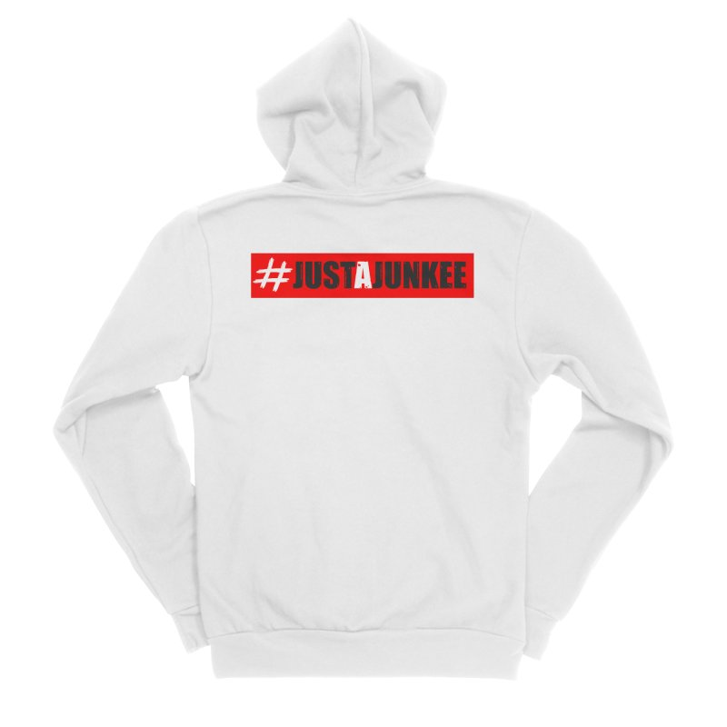 """Just A Junkee""  Limited Edition Men's Zip-Up Hoody by Official Track Junkee Merchandise"
