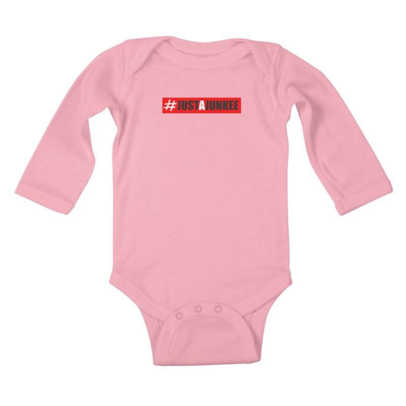 """Just A Junkee""  Limited Edition Kids Baby Longsleeve Bodysuit by Official Track Junkee Merchandise"