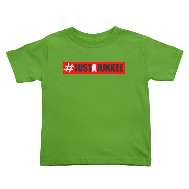 """Just A Junkee""  Limited Edition Kids Toddler T-Shirt by Official Track Junkee Merchandise"