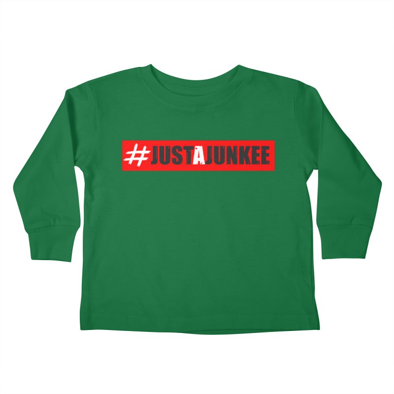 """Just A Junkee""  Limited Edition Kids Toddler Longsleeve T-Shirt by Official Track Junkee Merchandise"