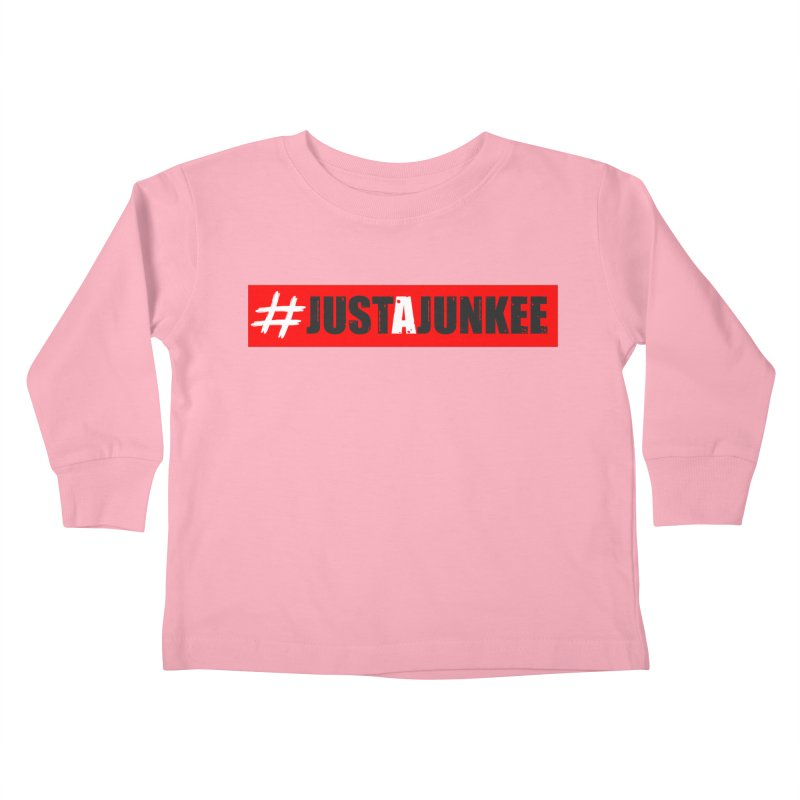 """""""Just A Junkee""""  Limited Edition Kids Toddler Longsleeve T-Shirt by Official Track Junkee Merchandise"""