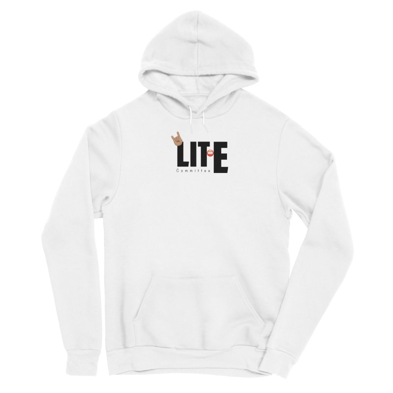 Lit-Tee Committee WHITE Men's Pullover Hoody by Official Track Junkee Merchandise