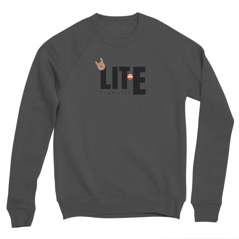 Lit-Tee Committee WHITE Women's Sweatshirt by Official Track Junkee Merchandise