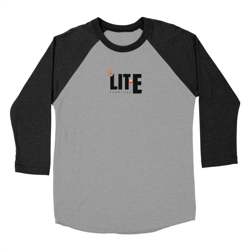 Lit-Tee Committee WHITE Men's Longsleeve T-Shirt by Official Track Junkee Merchandise