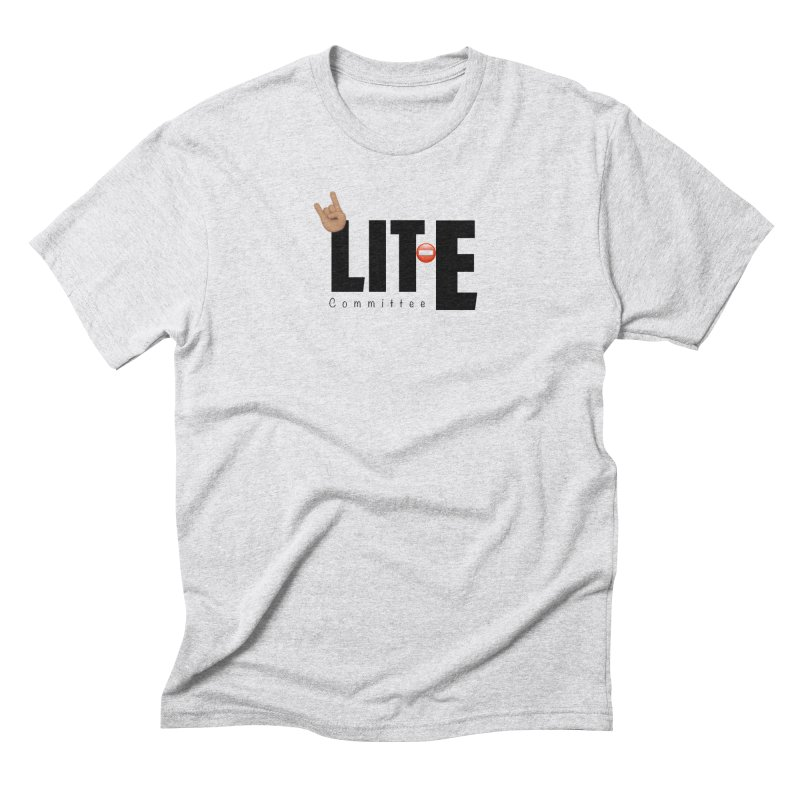 Lit-Tee Committee WHITE Men's T-Shirt by Official Track Junkee Merchandise