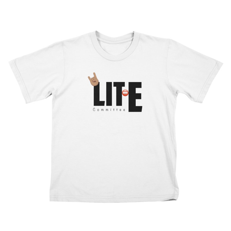 Lit-Tee Committee WHITE Kids T-Shirt by Official Track Junkee Merchandise