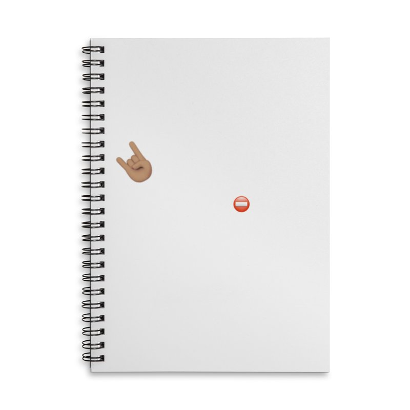Lit-Tee Committee White Accessories Notebook by Official Track Junkee Merchandise